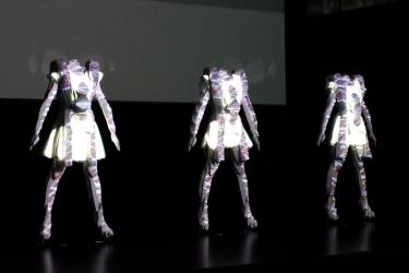 「ライゾマティクス inspired by Perfume」展:マネキンン製作1